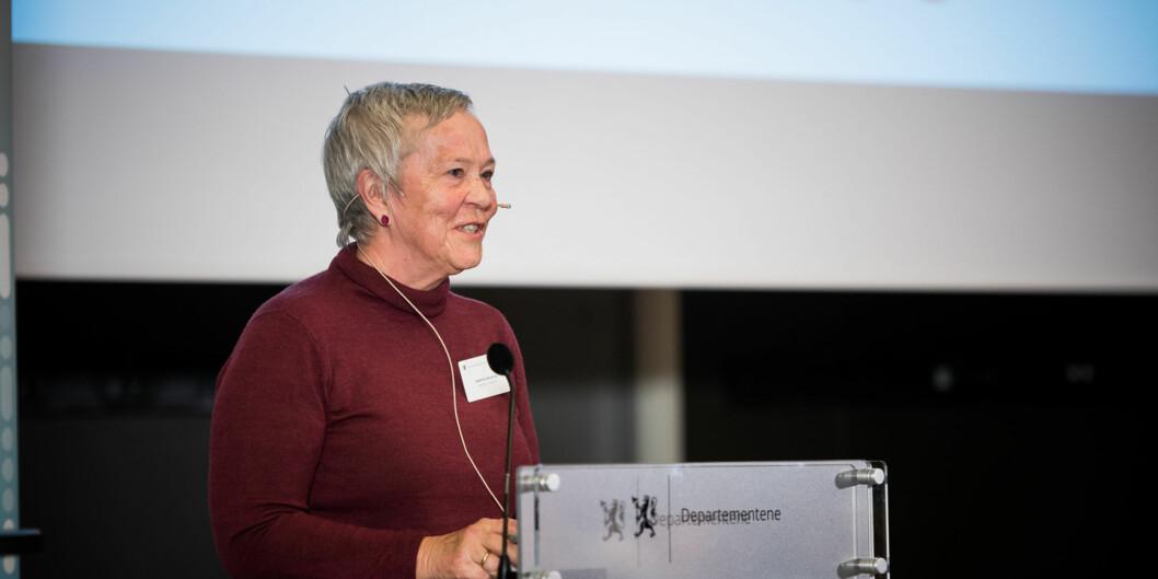 Rektor Kathrine Skretting mener at Østlandsforskning vil bidra til å styrke Høgskolen i Innlandet i arbeidet med å bli godkjent som universitet.