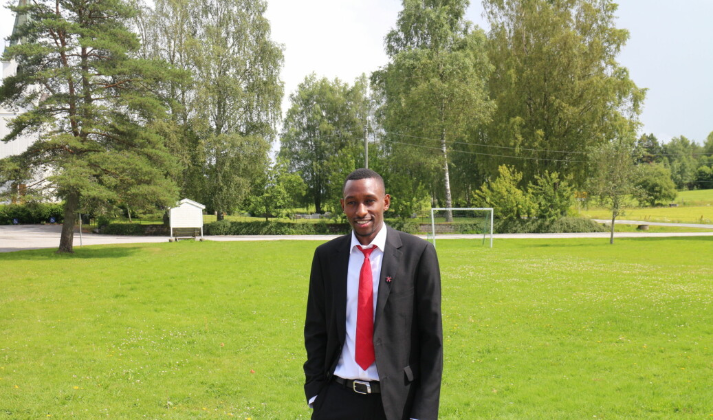 Eric Kimathi asks the Norwegian labour Inspection Authority (Arbeidstilsynet), NAV and universities to find appropriate ways to support all students working in Norway. Foto: ISU