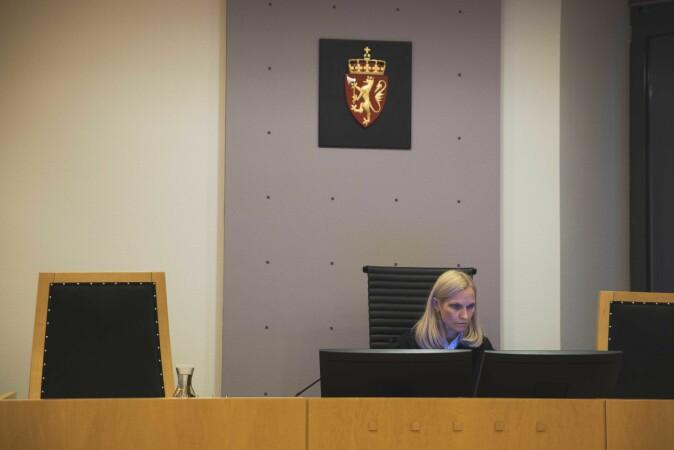 Rettens leder, Torild Margrethe Brende. Foto: Siri Øverland Eriksen