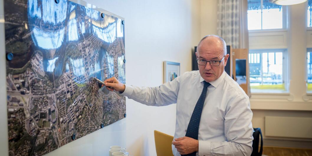 Rektor på NTNU, Gunnar Bovim. Foto: Skjalg Bøhmer Vold
