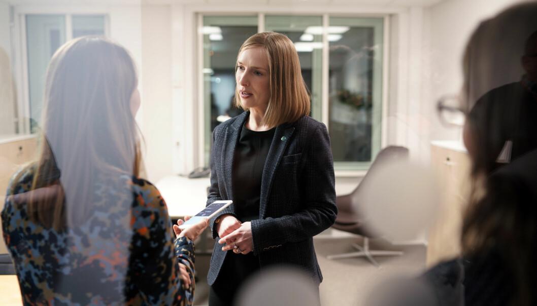 Minister for forskning og høyere utdanning, Iselin Nybø. Foto: Ketil Blom