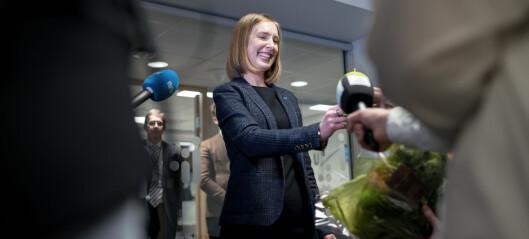 Lærere, boliger, it-sikkerhet og vannteknologi får mer fra Nybø