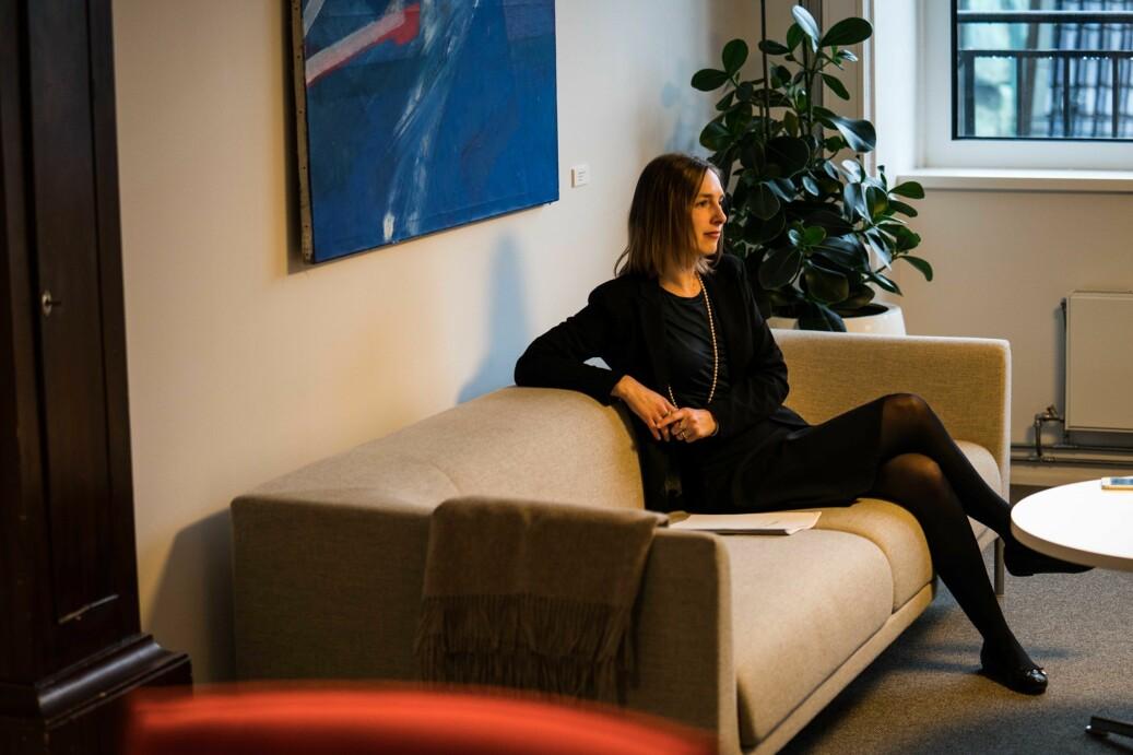 Minister for forsking og høgare utdanning, Iselin Nybø. Foto: David Engmo