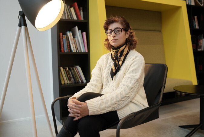 Marwa Jalal har søkt jobber siden juli 2017. Foto: Ketil Blom Haugstulen