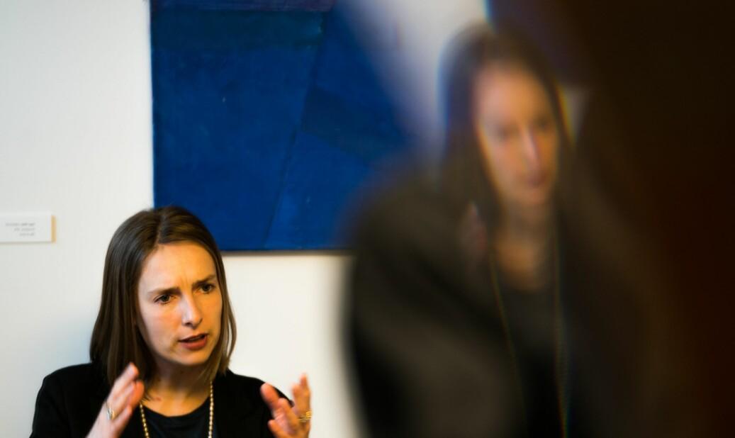 Statsråd Iselin Nybø peker på at det er en rekke områder der SFI-ordningen presterer mindre godt. Hun vil ha en mer treffsikker ordning. Foto: David Engmo