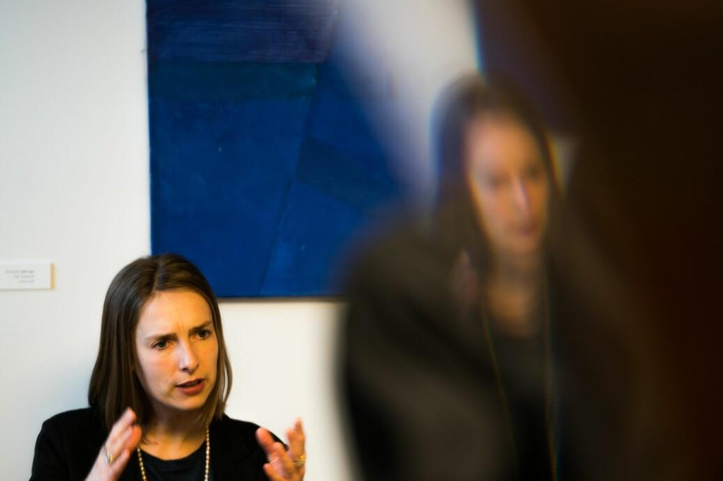 Forsknings- og høyere utdanningsminister Iselin Nybø vil se til de 10 eksisterende studentombudene når studentombud nå skal lovfestes. Foto: David Engmo
