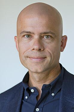 Prorektor Lars-Petter Jelsness-Jørgensen. Foto: HiØf