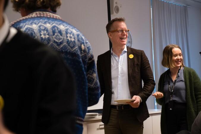 Rektor Curt Rice. Foto: Petter Berntsen