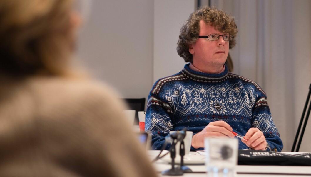 Bjørn Smestad på OsloMet valgte førstelektor-dosent-veien og er glad for det. Foto: Petter Berntsen