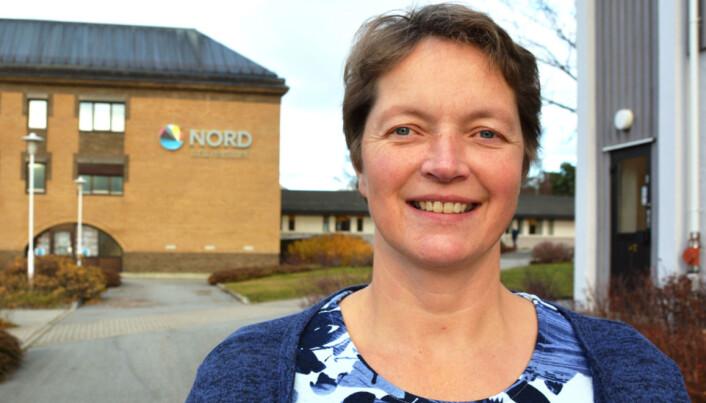 Hanne Solheim Hansen, prorektor for utdanning, Nord universitet. Foto: Bjørnar Olav Leknes, Nord