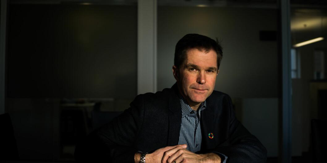 Direktør i Forskningsrådet, John-Arne Røttingen. Foto: David Engmo