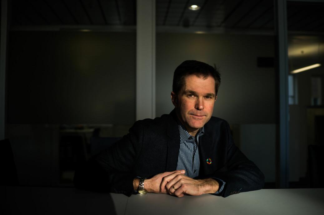 Forskningsrådet-direktør John-Arne Røttingen vil gjøre tilgangen på forskningsmidler enklere. Foto: David Engmo