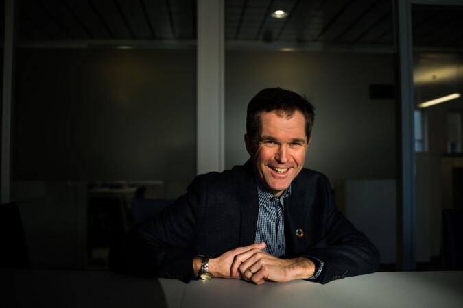 Forskningsrådets direktør John-Arne Røttingen tror ikke på mer enn tiårig støtte. Foto: David Engmo