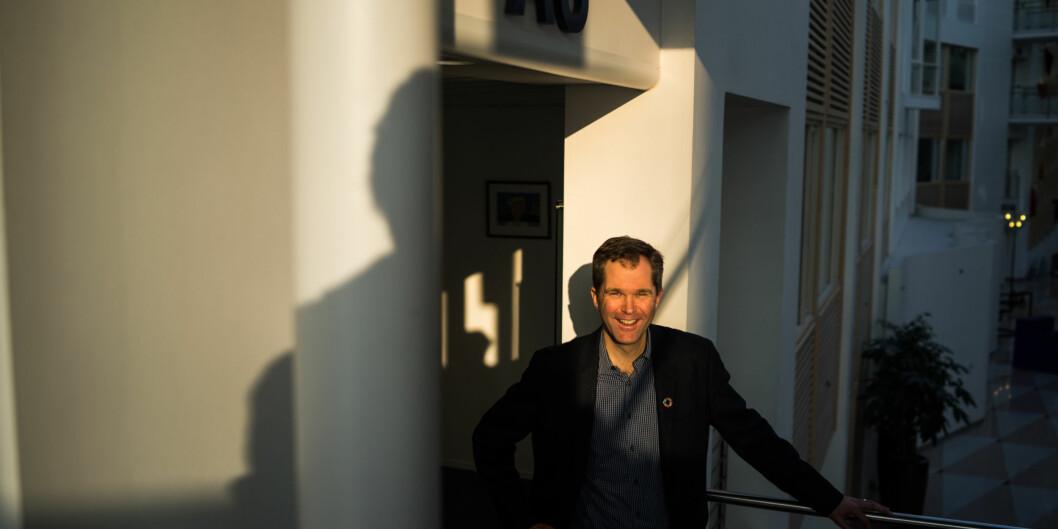Forskningsrådets administrerende direktør John Arne Røttingen sier at verdien av norsk deltakelse i EU-finansierte prosjekter er mye større enn pengene norske forskere henter hjem. Foto: David Engmo