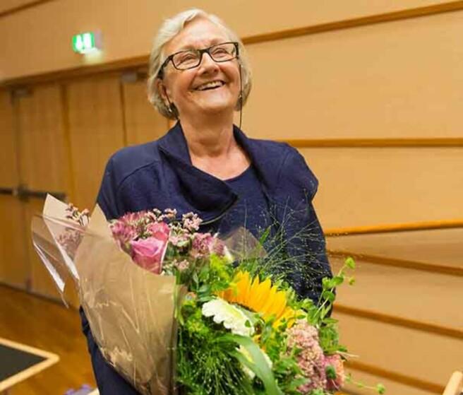 Professor Hege Skjeie mottok anerkjent europeisk forskerpris i 2017. Foto: https://ecpr.eu/news/