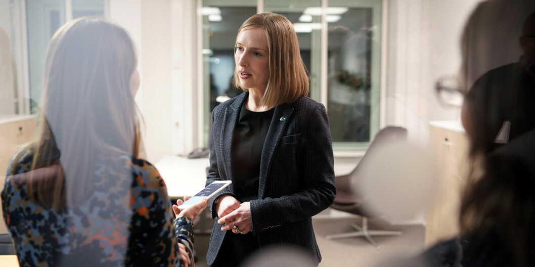 Venstre og Iselin Nybø mener å ha redusert omfanget av nikab-forbudet innen høyere utdannning. Foto: Ketil Blom Haugstulen