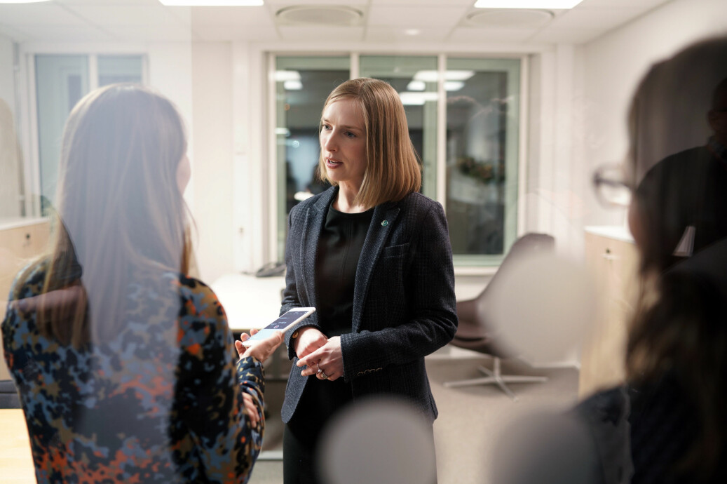 Forsknings- og høyere utdanningsminister, Iselin Nybø, mener selv at ex.phil. har en verdi som introduksjonsfag, men vil ikke pålegge noen universiteter å tilby det. Foto: Ketil Blom Haugstulen