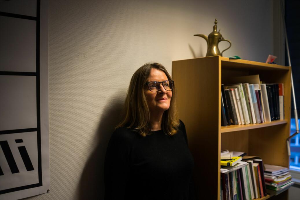 Anne Birgitta Nilsen vart utsett for grov hets etter å ha kritisert Siv Jensen. Foto: David Engmo