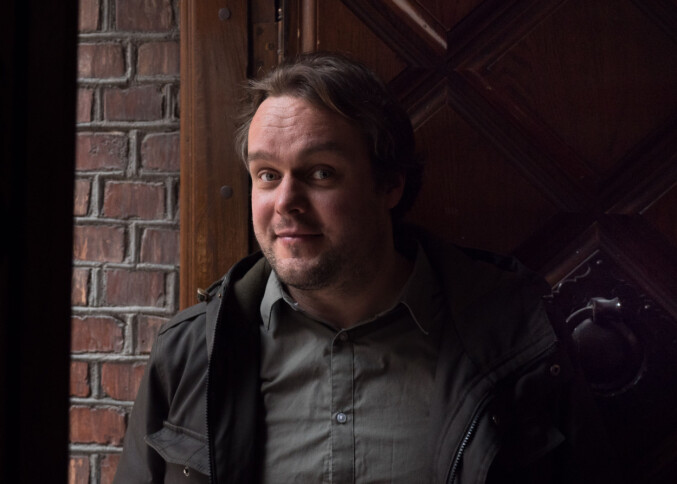 Lars Eirk Larsen er stipendiat ved senter for profesjonsstudier på OsloMet. Foto: Petter Berntsen