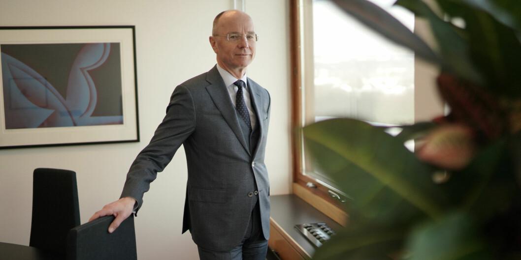Nils -Henrik von der Fehr er dekan for SV-fakultetet ved Universitetet i Oslo. Fire professorer kritiserer planene for finansieringsendring ved fakultetet. Foto: Ketil Blom Haugstulen