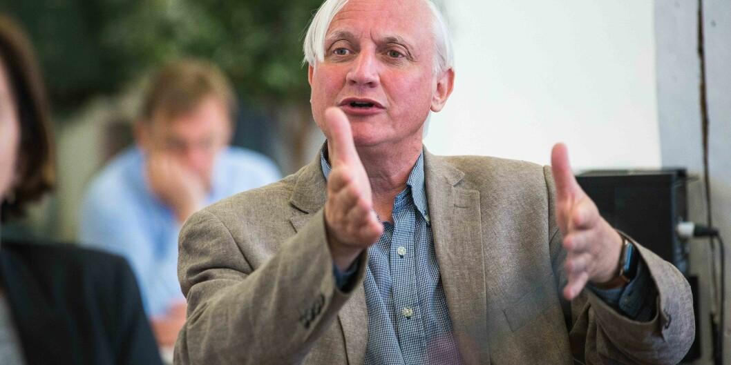 Kristian Gundersen, professor på Universitetet i Oslo. Foto: Siri Øverland Eriksen