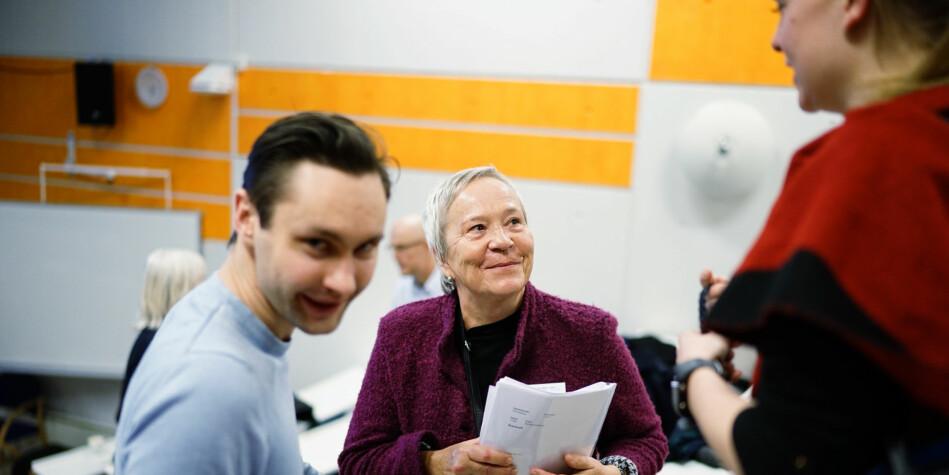 Kathrine Skretting, rektor på Høgskolen i Innlandet, samler styret sitt til møte torsdag 13. juni. Foto: Ketil Blom Haugstulen