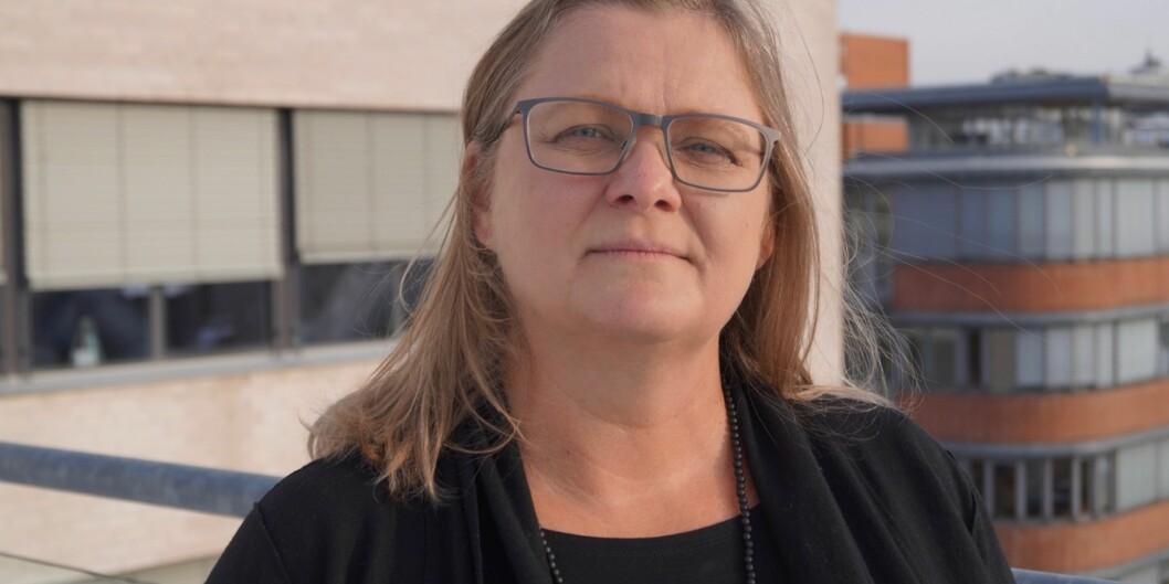Halla Bjørk Holmarsdottir sitter i programstyret for Norpart. De lyser ut 90 nye millioner til prosjekter som skal stimulere samarbeid og utveksling med land og universiteter i det globale sør. Foto: Øystein Fimland