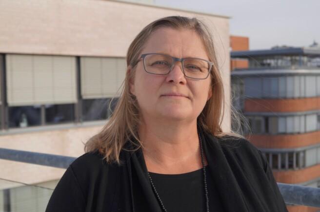 Halla Bjørk Holmarsdottir er en av søkerne på dekanjobben. Foto: Øystein Fimland