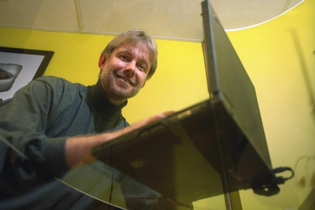 NTNU-professor Arne Krokan topper lista over de best betalte norske foredragsholderne i akademia. Foto: Bjørn Aslaksen, NTB scanpix