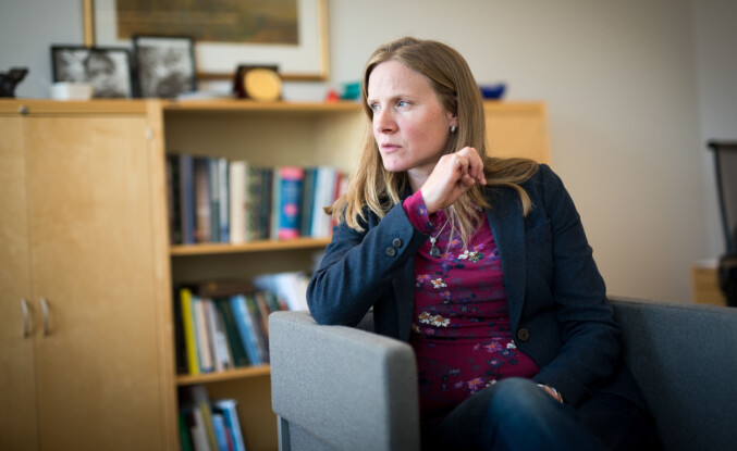 Rektor Mari Sundli Tveit ved NMBU. Foto: Skjalg Bøhmer Vold