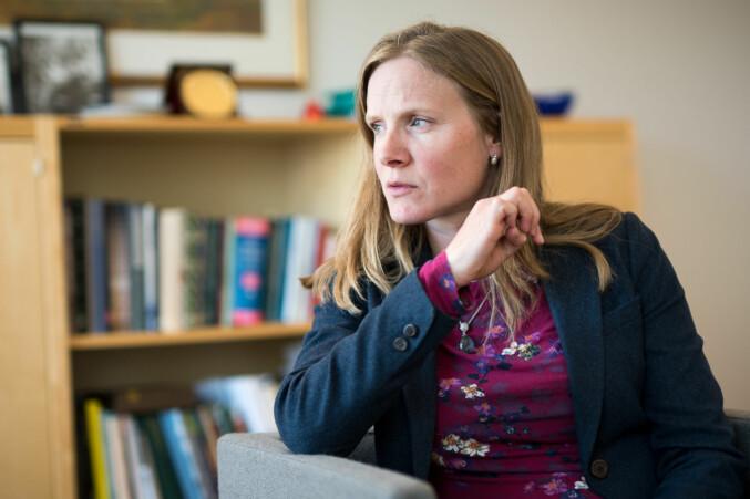 NMBU-rektor og styreleder i UHR, Mari Sundli Tveit. Foto: Skjalg Bøhmer Vold