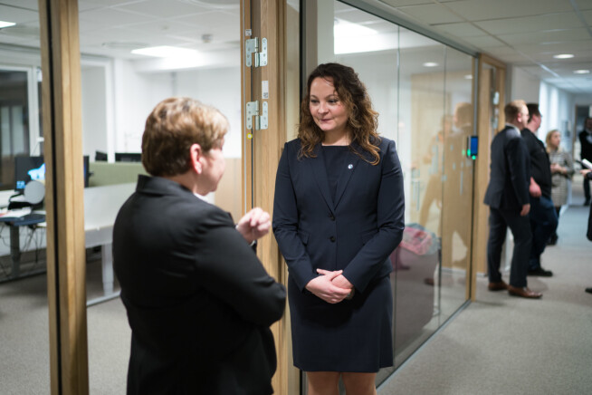 Statssekretær Rebekka Borsch. Foto: Ketil Blom Haugstulen