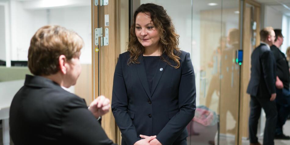 Statssekretær Rebekka Borsch i Kunnskapsdepartementet mener Khronos overskrift gir et misvisende bilde om uh-budsjettet. Foto: Ketil Blom Haugstulen