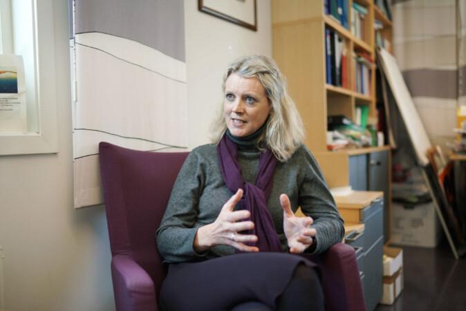 Helene Nissen-Lie sier ansatte på klinikken samarbeider om både studenter og forskning. Foto: Ketil Blom Haugstulen