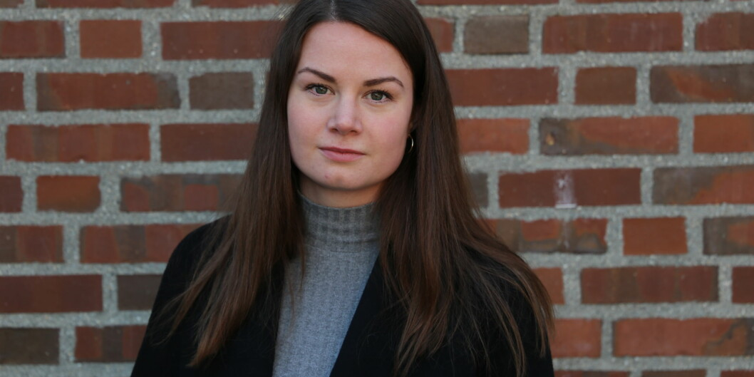 Cecilie Mathisen, gruppeleder Moderat Liste ved Studentparlamentet UiT Norges arktiske universitet.