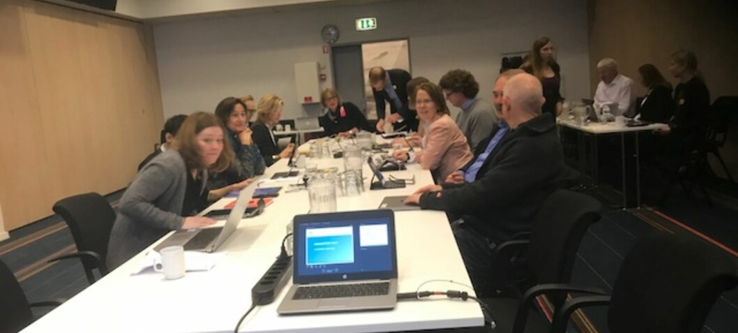 OsloMet med maratonmøte i København