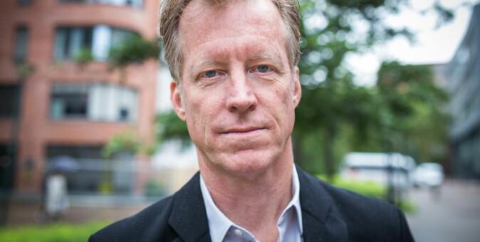 OsloMet-rektor Curt Rice. Foto: Siri Øverland Eriksen