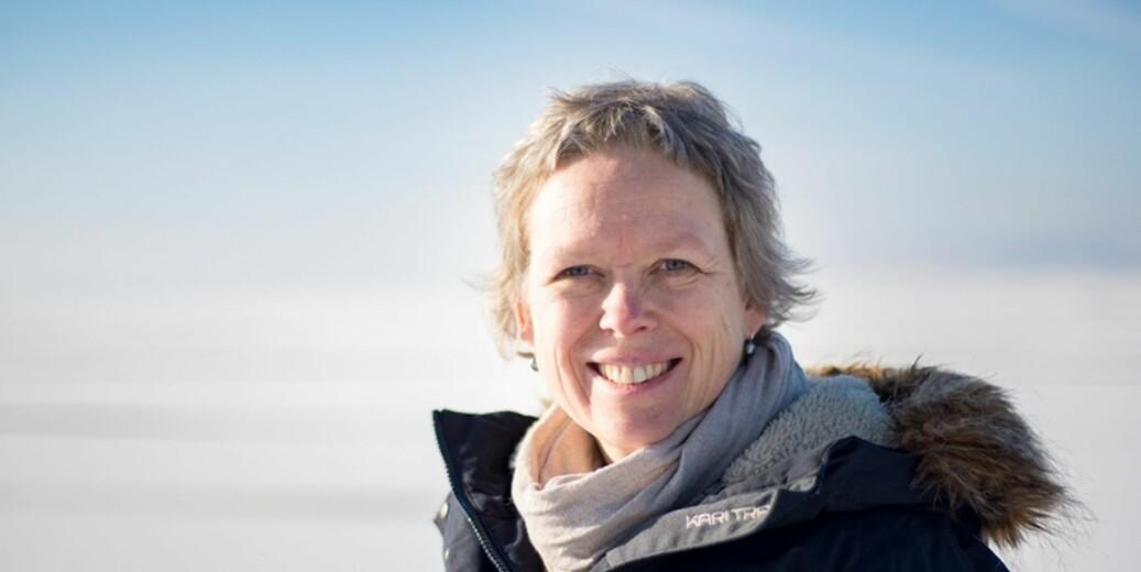 Prosjektleder for Arven etter Nansen, Marit Reigstad, sier endringer i Arktis skjer raskere enn man har trodd. — Det er et tegn på at vi mangler viktig kunnskap, sier hun. Foto: Magne Velle