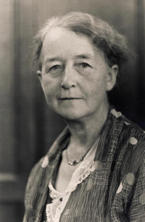 Kristine Bonnevie ble landets første kvinnelige professor i 1912. Foto: Science Photo Library /NTB scanpix