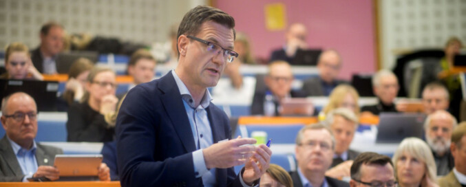 Universitetsdirektør Jørgen Fossland ved UiT. Foto: Ketil Blom Haugstulen