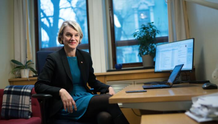 Nina Sandberg, Arbeiderpartiet. Foto: Ketil Blom Haugstulen