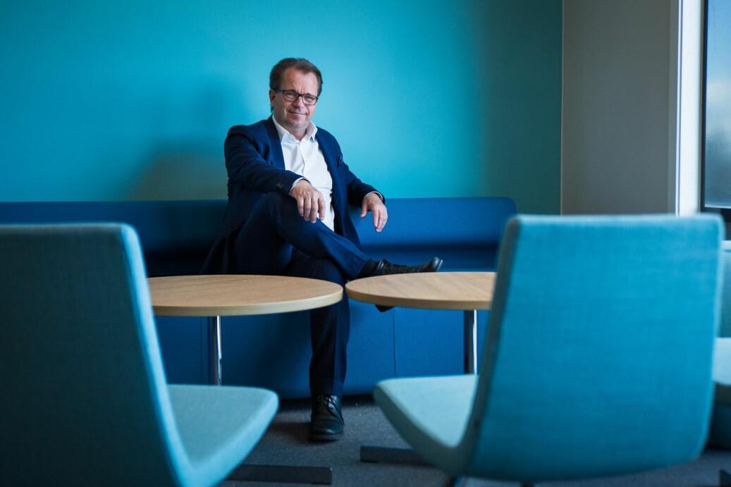 Rektor ved Nord universitet, Bjørn Olsen, har fått innspill fra styret i utformingen av nye retningslinjer for bevertning. Foto: Siri Øverland Eriksen