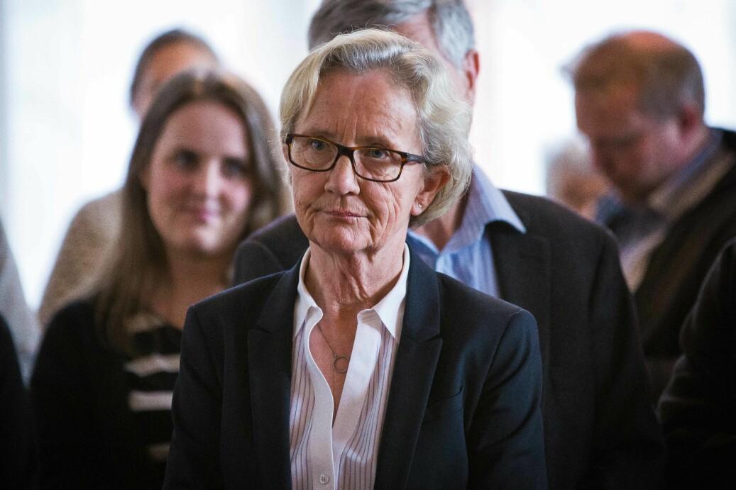 Universitetsdirektør ved Universitetet i Oslo, Gunn Elin Aa. Bjørneboe, foreslår at styret slutter seg til en intern organisering. Foto: Siri Ø. Eriksen