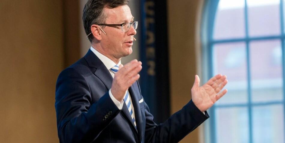 Rektor ved Universitetet i Bergen (UiB), Dag Rune Olsen. Foto: Ketil Blom Haugstulen