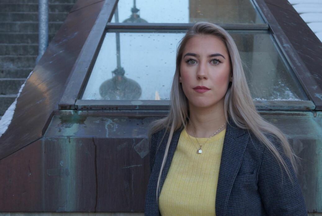 Den foreslåtte mistilliten mot parlamentsleder ved UiT, Ida-Elise Seppola Asplund, skal behandles i kveld. Foto: Øystein Fimland