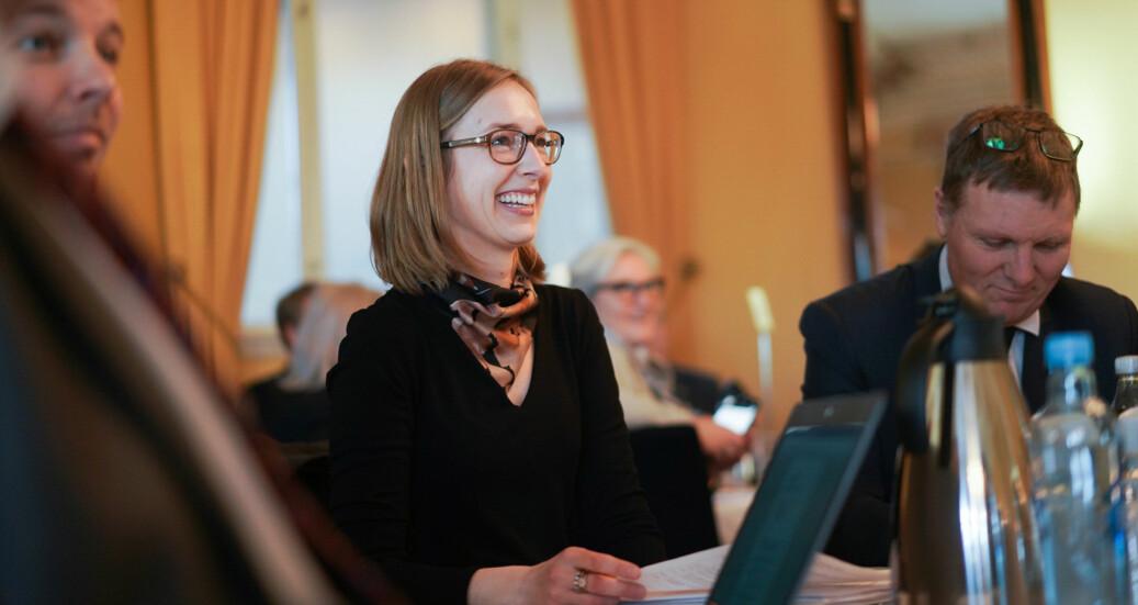 Minister for forskning og høyere utdanning, Iselin Nybø. Foto: Ketil Blom Haugstulen