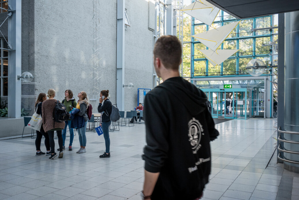 Her ved NTNU Trondheim kan studentene måtte vente opptil sju uker for å få time hos psykolog. Foto: Skjalg Bøhmer Vold