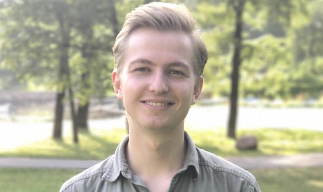Johan Hertzberg er førstekandidat for den nyetablerte listen. Foto: Andreas Brännström/FrP