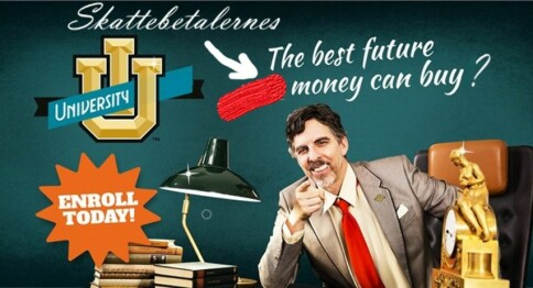 University inc. — Ja takk!