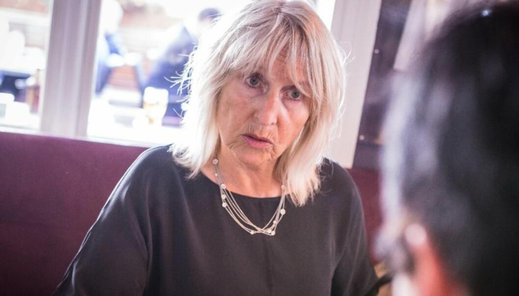 Rektor Marit Boyesen ved Universitetet i Stavanger sier at de ser svært alvorlig på saken om seksuell trakassering og at den har vært vanskelig å håndtere. Foto: Siri Øverland Eriksen